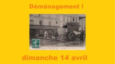 Déménagement armoires Ludothèque - Dimanche 14 avril/09h30